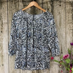 NWT Cathy Daniels Petite Blouse, Size PXL
